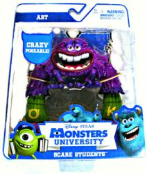 Monsters University Scare Students: Art action figure (Spin Master)