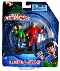Arthur Christmas: Arthur & Steve figure 2-pack (Bridge Direct/2011)