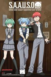 Assassination Classroom poster: S.A.A.U.S.O. (24x36) Anime series