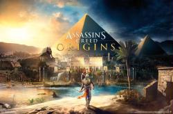 Assassin's Creed Origins video game poster (34x22)