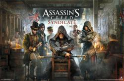 Assassin's Creed Syndicate video game poster (34x22) Key Art