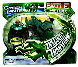 Green Lantern [Battle Shifters] Astro-Beast Kilowog figure (Mattel)