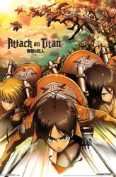 Attack on Titan poster: Anime Series (22x34) Shingeki no Kyojin