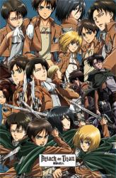 Attack on Titan poster: Collage (22x34) Anime
