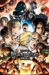 Attack On Titan poster: Season 2 Characters (24x36) anime