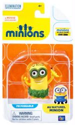 Minions: Au Naturel Minion poseable figure (Thinkway Toys)