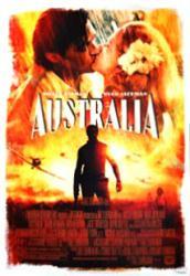 Australia movie poster [Nicole Kidman/Hugh Jackman] Baz Luhrmann film