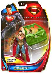 Man of Steel: Auto Assault Superman action figure (Mattel/2013)