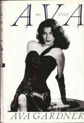 Ava Gardner autobiography: Ava My Story hardback book (1990)