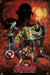 Avengers: Age of Ultron movie poster [Hemsworth, Evans] 24x36
