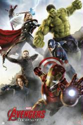 Avengers: Age of Ultron movie poster [Hemsworth, Evans] 24x36 Style C