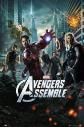 The Avengers movie poster [Robert Downey Jr, Chris Hemsworth] 24x36