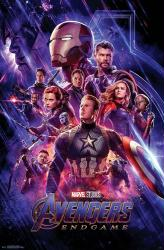 Avengers: Endgame movie poster [Chris Evans, Chris Hemsworth] 22x34