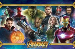 Avengers: Infinity War movie poster (34x22) Team