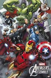 Avengers poster: Avengers Assemble (24x36) Marvel Comics