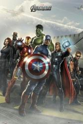 The Avengers movie poster (24'' X 36'') Flight Deck