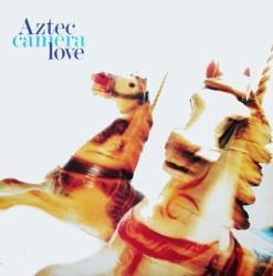 Aztec Camera poster: Love vintage LP/album flat (1987)