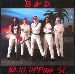 Big Audio Dynamite (B.A.D.) poster: No. 10 Upping St. vintage LP flat