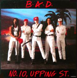 Big Audio Dynamite (B.A.D) poster: No. 10 Upping St. album flat (1986)