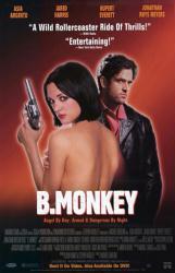 B. Monkey movie poster [Rupert Everett, Asia Argento] 26x40