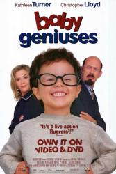 Baby Geniuses movie poster [Kathleen Turner, Christopher Lloyd] 27x40