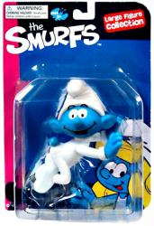 The Smurfs Large Figure Collection: Baby Smurf figure (Goldie/2012)