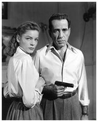 Lauren Bacall & Humphrey Bogart poster print (18x22) Key Largo