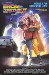 Back to the Future Part II movie poster [Michael J. Fox, Lloyd] 27x40