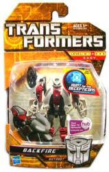 Transformers Hunt for the Decepticons: Backfire action figure (Hasbro)