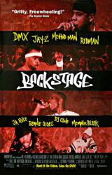 Backstage movie poster [DMX & Jay-Z] video version
