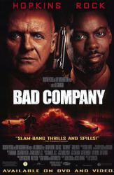 Bad Company movie poster [Anthony Hopkins & Chris Rock] video poster