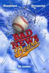 Bad News Bears movie poster [a Richard Linklater film] 27x40 advance