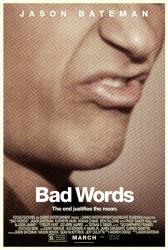 Bad Words movie poster [Jason Bateman] 27x40 original