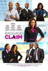 Baggage Claim movie poster [Paula Patton, Taye Diggs, Derek Luke]