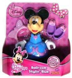 Minnie Mouse Bow-tique: Ballroom Stylin' Blue Minnie figure [Disney]