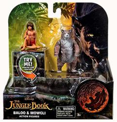 The Jungle Book: Baloo & Mowgli action figures (Just Play/2016) Disney