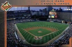 Baltimore Orioles poster: Oriole Park at Camden Yards (34x22) MLB