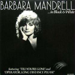 Barbara Mandrell poster: ...In Black and White vintage LP/album flat