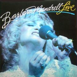 Barbara Mandrell poster: Barbara Mandrell Live vintage LP/album flat
