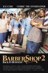Barbershop 2: Back  In Business movie poster [Ice Cube] 27x40