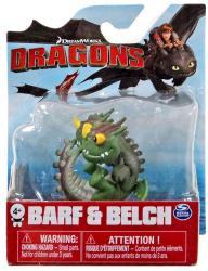 Dragons: Barf & Belch figure (Spin Master/2017) Dreamworks