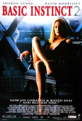 Basic Instinct 2 movie poster [Sharon Stone] 27x40 video poster