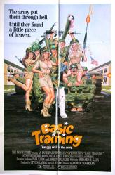 Basic Training movie poster (1985 comedy) original 27x41 one-sheet