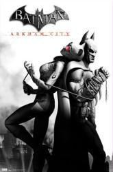 Batman: Arkham City video game poster (Batman & Catwoman)
