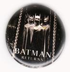 Batman Returns pinback: Michael Keaton as Batman (1.75'' Button)