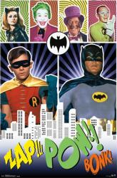 Batman poster: 1966 TV series [Adam West & Burt Ward] 22x34