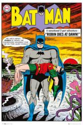 Batman poster: June 1963 #156 Robin Dies At Dawn cover art (24x36)