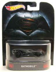 Hot Wheels Retro Entertainment: Batman v Superman Batmobile diecast