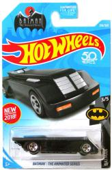 Hot Wheels Batman: The Animated Series Batmobile die-cast vehicle