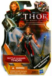 Thor: Battle Hammer Thor action figure (Hasbro/2010)